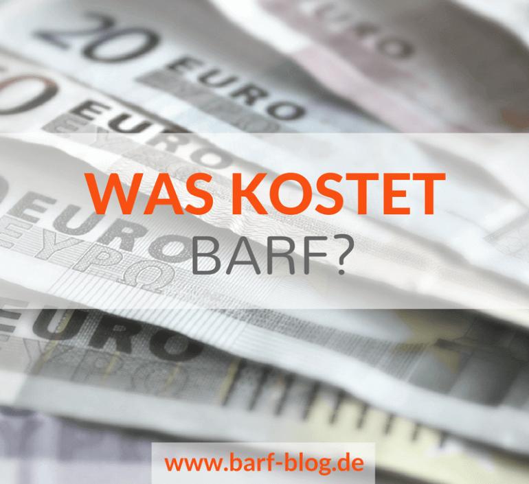 Wie teuer ist BARF? Eine Hochrechnung und 5 Ideen, wie Du dabei sparen kannst