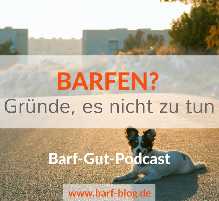 [BGP012] BARFEN um jeden Preis? Wann Du besser nicht roh füttern solltest.
